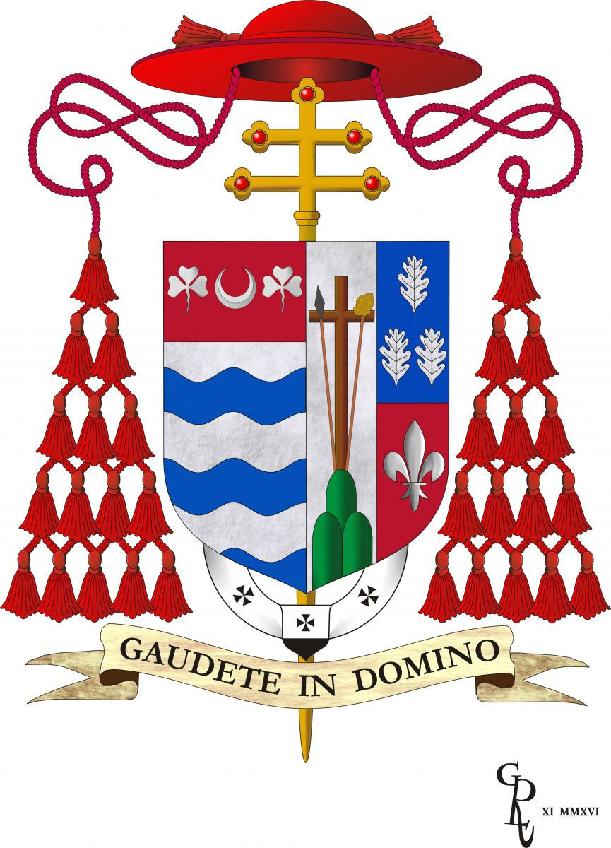 Coat Of Arms Of Joseph W Tobin Archdiocese Of Newark