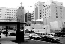 Established in January 2000, the modern countenance of Trinitas Hospital graces Williamson Street in Elizabeth.