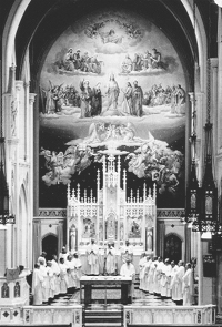 Christ the King Chapel of Immaculate Conception Seminary at Darlington, June 8, 1967.