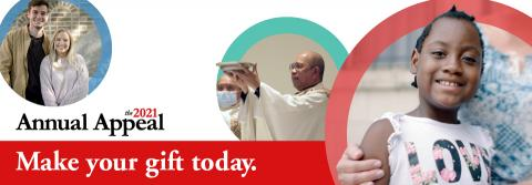 Banner: 2021 Annual Appeal Archdiocese of Newark | Archdiocese of Newark
